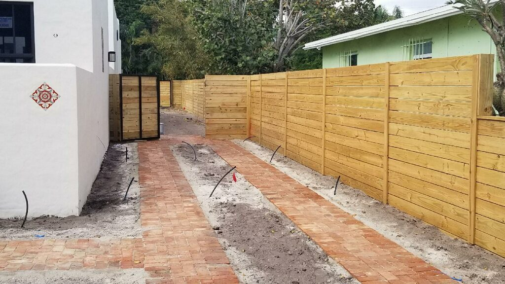 Custom Fencing in Arlington